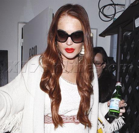 Lindsay Lohan Brunette Hair 22